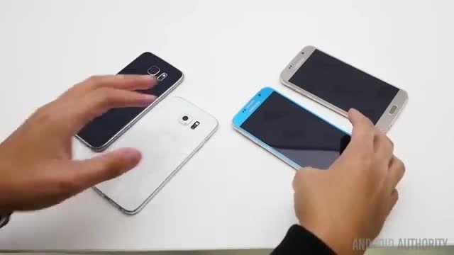 طراحی زیبا و نازک تر Galaxy s6 edge - Galaxy s6