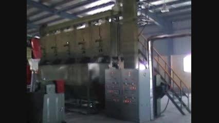 ماشین آلات و خط تولید الیاف پلی استر