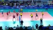 مرحله فینال لیگ جهانی والیبال2013/ برزیل 2 - 3 روسیه