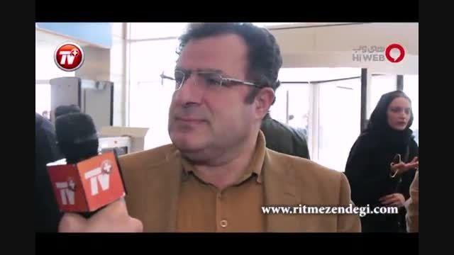 گفتگو با مجری «هفت» در حاشیه جشنواره فیلم فجر