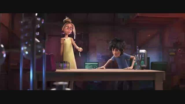 ویدیو از انیمیشن جدید big hero 6 2014
