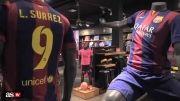 Ya a la venta la camiseta de Luis Suárez de azulgrana