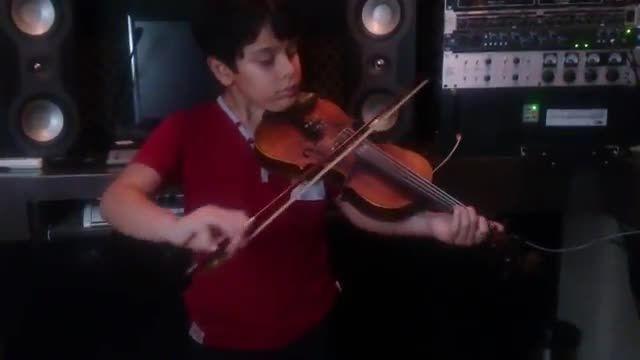 بردیا پورحسن   آهنگ الکساندر ریباک   دوره متوسطه   شاگر