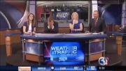 سوتی در برنامه زنده تلویزیونی......