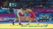 بازی های آسیایی (کشتی - کسب مدال طلا پرویز هادی )