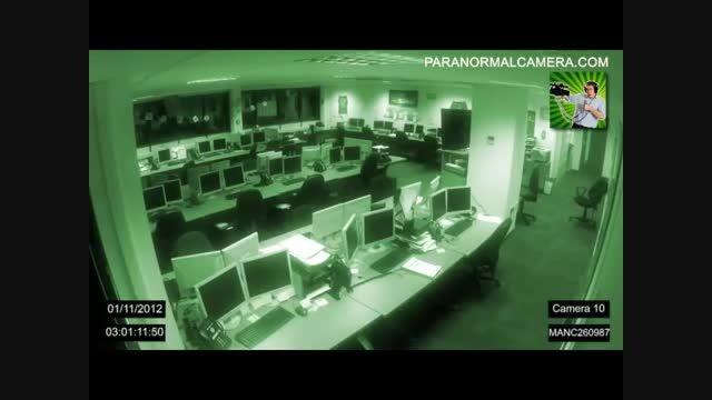 عجیب ترین ویدئو از جنیان در یک شرکت