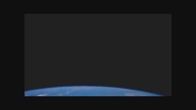سیاره زمین از دید ایستگاه فضایی