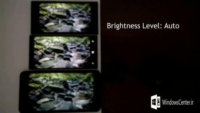 مقایسه صفحه نمایش لومیا ۷۳۰، لومیا ۶۴۰XL و لومیا ۹۳۰