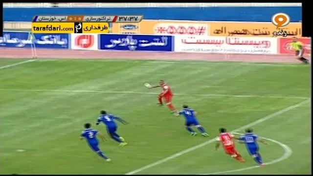 خلاصه بازی تراکتورسازی 3-0 استقلال خوزستان