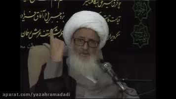 قضیه ی شنیدنی امام حسن ع از زبان آیت الله وحیدخراسانی