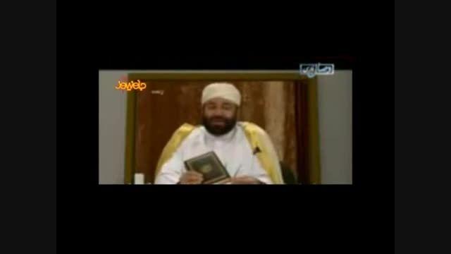 قرآن خواندن پر از غلط خدمتی (مدیر شبکه وهابی کلمه)