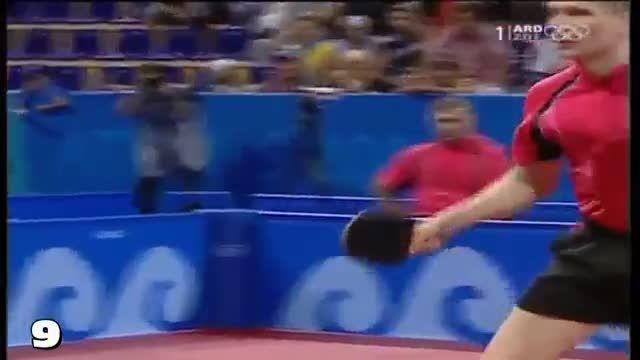بهترین بک هند های تیموبول - Timo Boll