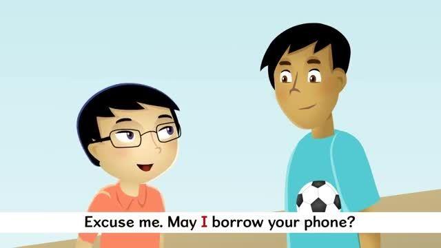 May I Borrow Your Phone? Sing-along آموزش انگلیسی