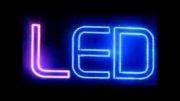 تابلو ال ای دی ثابت هفت رنگ - فلاشر تابلو led - فروش فلاشر تابلو led