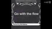 اموزش حرفه ای زبان / go with the flow