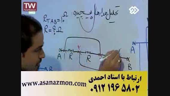 حل سوالات کنکور سراسری فیزیک و نکات مشاوره ای 6