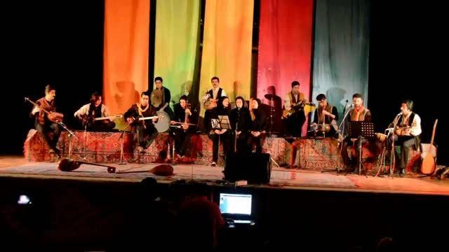اجرای گروه موسیقی عندلیب گنبدکاووس