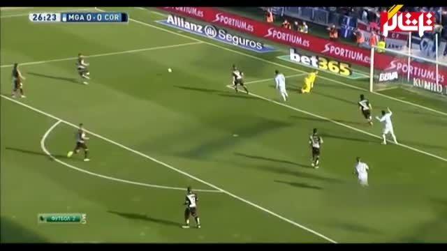 خلاصه بازی : مالاگا 2 - 0 کوردوبا ( ویدیو )