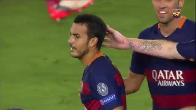 صحنه هایی زیبا از قهرمانی بارسلونا در سوپر کاپ اروپا
