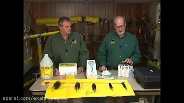 نگهداری و تمیز کردن پرچ (چوب دستی عایق برق)