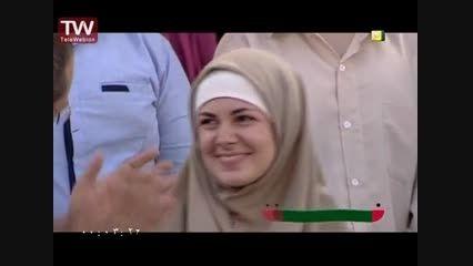 حضور خواهر زاده رامبد جوان در برنامه خندوانه