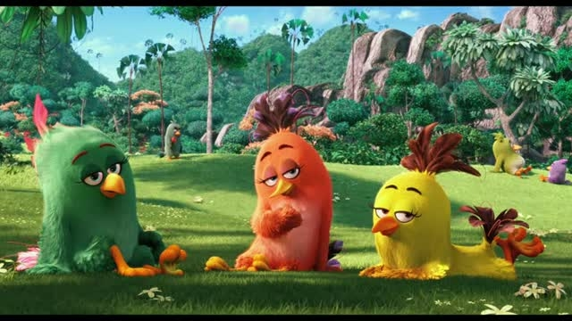تریلر انیمیشن Angry Birds پرندگان خشمگین