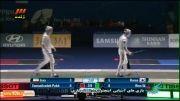فینال شمشیربازی: کره جنوبی ۴۵-۲۶ ایران