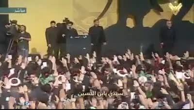 سرود رزمنده گان حزب الله و دعا برای امام خامنه ای