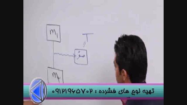 حل تست های فیزیک با مدرس تکنیکی مهندس مسعودی (5)