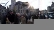 بازارکبوتر مسابقه  لیر، بلژیک 2014 (به صورت اسلاید)