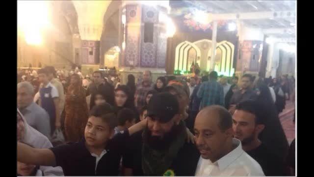 ابو عزراییل (قاتل داعش) در ایران -مشهدالرضا (ع) - سوریه