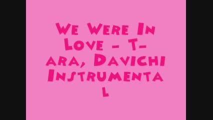 T-ara _ We were in love