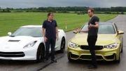 مقایسه BMW m4 2015 و Chevrolet Corvette Stingray 2014