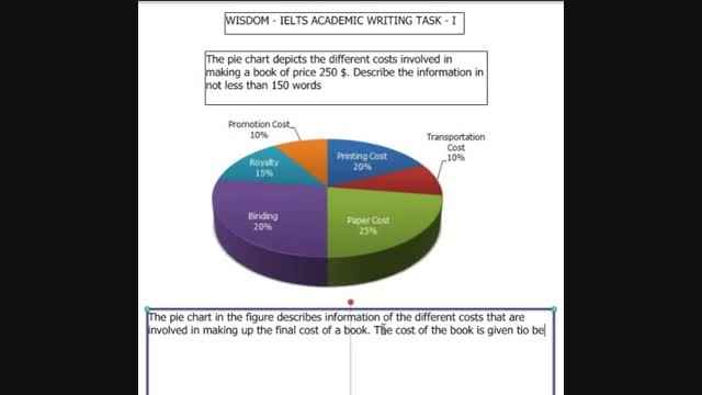 1.5 IELTS Academic Writing Task 1