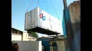 دستگاه تصفیه آب دریایی برای ارسال به جزیره کیش