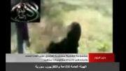 کتک زدن زنان بی دفاع سوری توسط تروریست های وهابی نجس