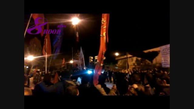شب دوم محرم در هشترود+ عکس و ویدئو