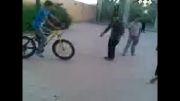 تک چرخ بدون تایر جلو از محمد حسین ثانی در مسجد و هیت رقیه خاتون
