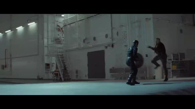 سکانسی زیبا و اکشن از فیلم کاپیتان آمریکا  سرباز زمستان