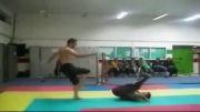 حرکات پارکور و رزمی سیاوش جهانی معروف به سیا پارکور از یاسوج و بیضا فارس