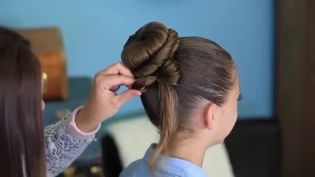 آموزش درست کردن مو به صورت فوق العاده زیبا