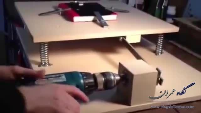 میز زلزله دست ساز