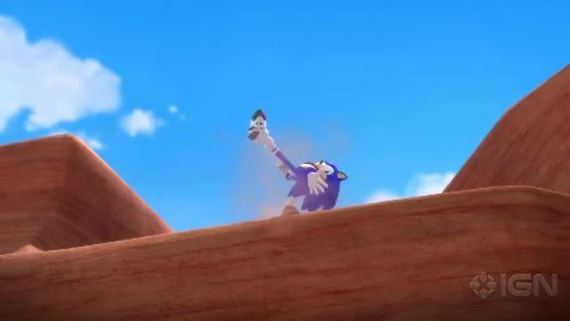 تیرز انیمیشن سونیک بوم-sonic boom