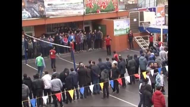 جشنواره ورزشی دبیرستان سلام تجریش