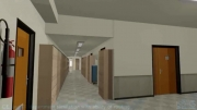 شبیه سازی سه بعدی دانشکده کامپیوتر دانشگاه امیرکبیر