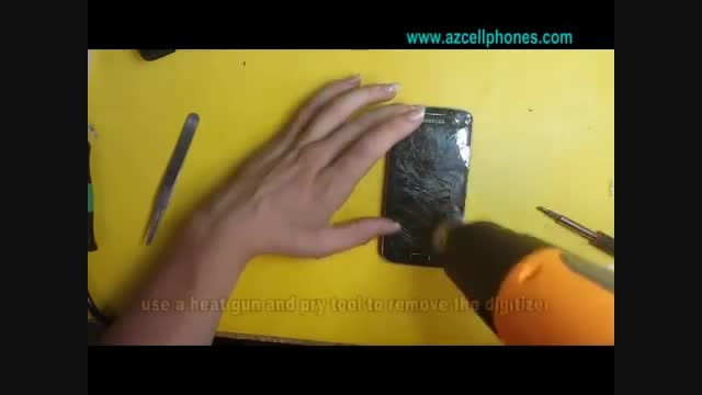 تعویض تاچ و LCD گالکسی Avant