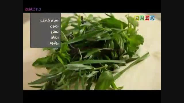 آب دوغ خیار خوراک فقرا غذای سالم+ویدیو کلیپ فیلم