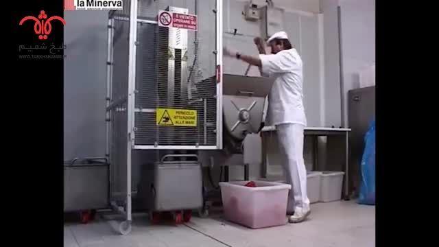 چرخ گوشت میکسر دار