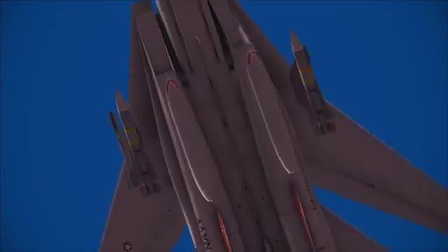 آموزش شلیک موشک فونیکس تامکت F-14 در شبیه ساز پرواز