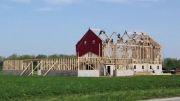 ساخت دو سوله در یک روز توسط مردان قوم آمیش در اوهایو